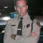 Jayson Warner Smith as Officer Herb in Paramount Pictures' Footloose